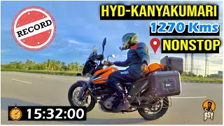 Nonstop Ride From Hyderabad To Kanyakumari Day 1,2 | New Record in MotoVlogging | Bayya Sunny Yadav