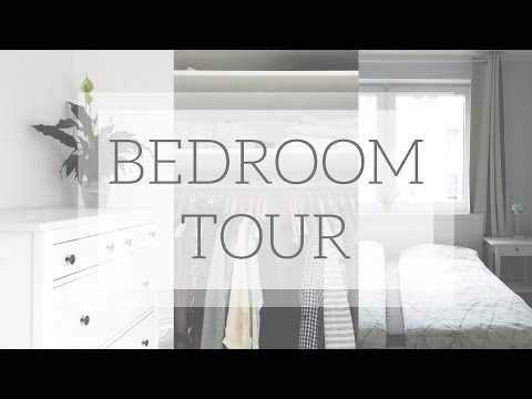 Minimal Bedroom & Capsule Wardrobe Closet Tour