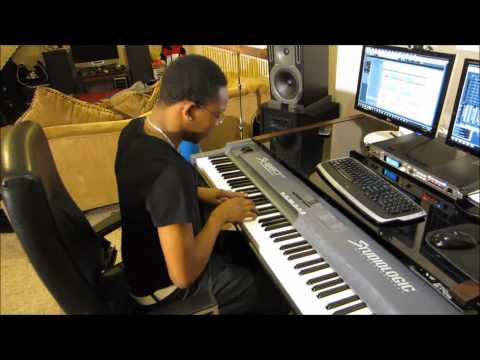 David Neale Making a Hiphop Beat
