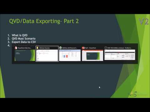QVD Creation in Qlikview | QVD Must Scenario | QVD Related Functions | QVD in Detail # Part 2