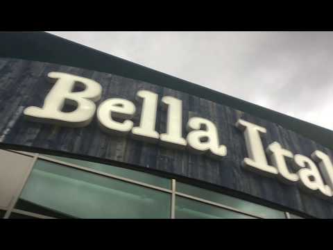 London's Healthy Options - Review Of Bella Italia In Beckton London