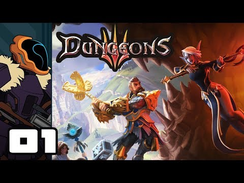 Let's Play Dungeons 3 - PC Gameplay Part 1 - The Shadow Of Absolute Evil