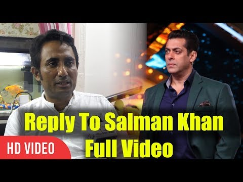 Zubair Khan Reply To Salman Khan Full Video | Bigg Boss 11 Controversy