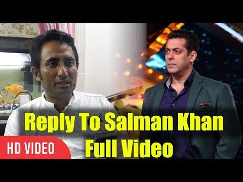 Zubair Khan Reply To Salman Khan Full Video | Bigg Boss 11 Controversy