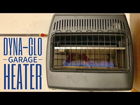 How To Heat Your Garage With A Dyna-Glo Natural Gas Heater
