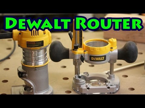 Dewalt DWP611PK Plunge Router Review
