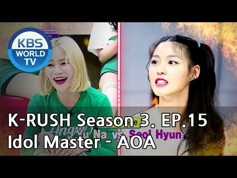 Idol Master - AOA [KBS World Idol Show K-RUSH3 / ENG,CHN / 2018.06.22]