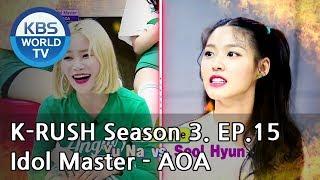 Idol Master Aoa Kbs World Idol Show K Rush3 Eng Chn 2018 06 22