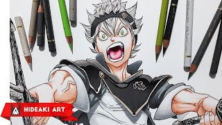 Speed Drawing Asta || Black Clover