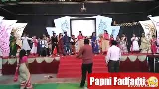 Papni Fadfadti at School Function😜🌟😎