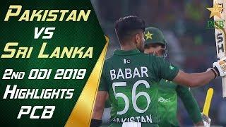 Pakistan Vs Sri Lanka 2019   2nd Odi   Highlights   Pcb