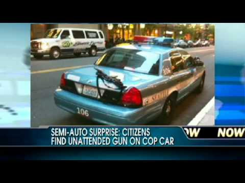 Citizens Find Assault Rifle Resting on Seattle Police Department Squad Car