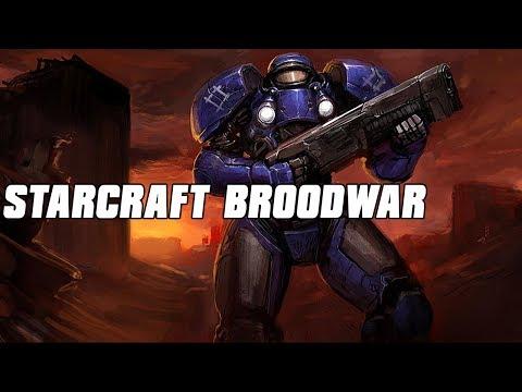 Starcraft Brood War Multiplayer 10 Player FFA Terran Assault