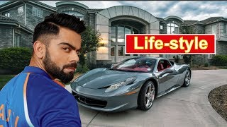 Virat Kohli Lifestyle 2019 | Houses, Car, Girlfriend, Family, Net Worth, Salary, Awards & Biography