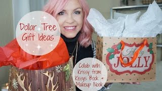 Dollar Tree Gift Ideas| Gifts For Her   Silly White Elephant Gifts|collab With Krissy| Megan Navarro
