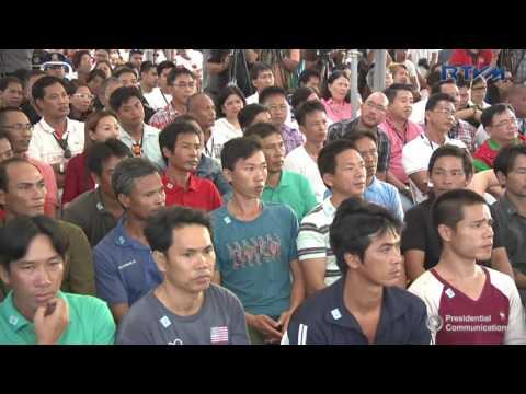 Ceremonial Send-Off Of Vietnamese Fishermen (Speech) 11/2/2016