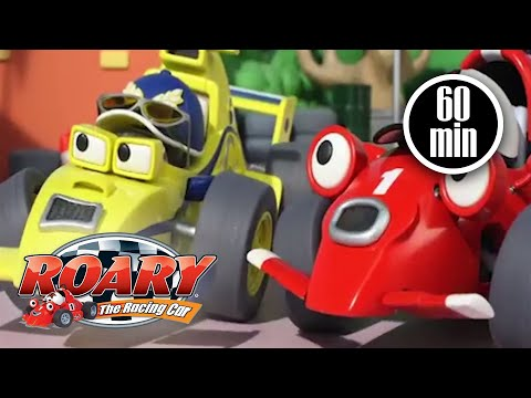 Roary The Racing Car Official | Pit Stop Perils | NEW EPISODES | Cartoons For Kids | Full Episodes
