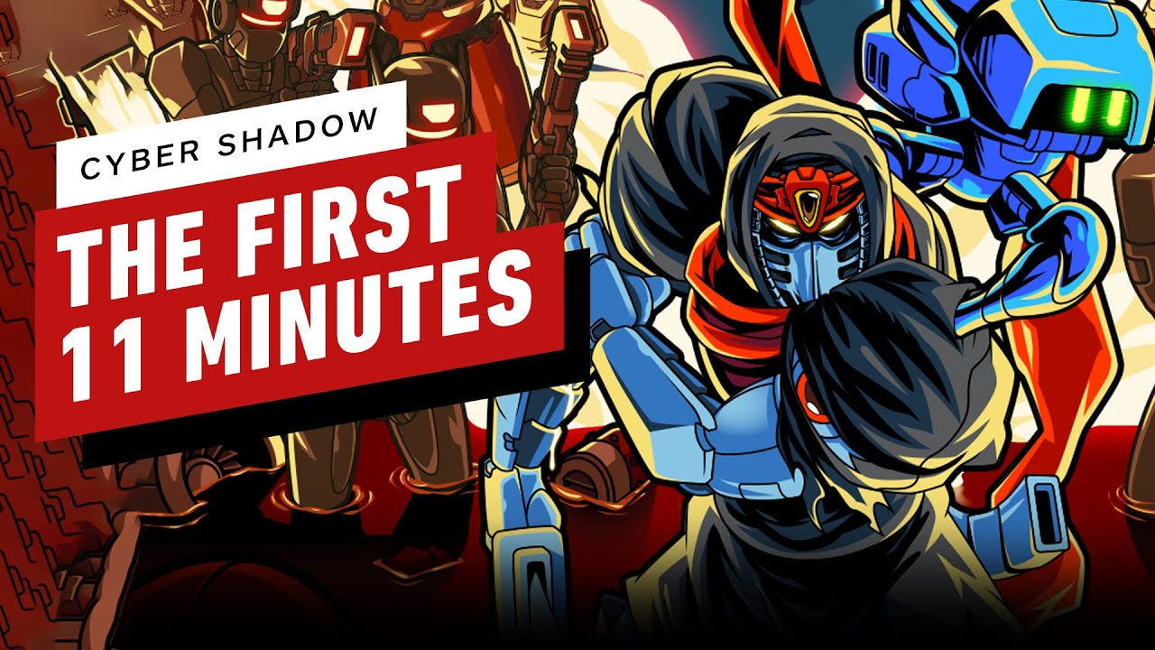 The First 11 Minutes of Cyber Shadow - IGN