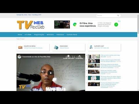 Como Transmitir ao Vivo pelo Wirecast Via Youtube pela TVWeb PescWeb thumbnail
