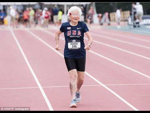 101-Year-Old woman shatters world record in 100 meter dash| BTTV News