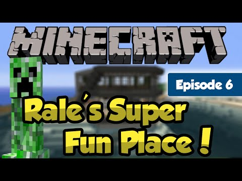 Minecraft - Rale's Super Fun Place - Boat House Thingy [6]