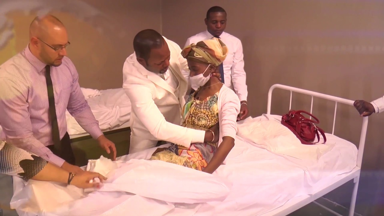 The Dead Being Healed At Alleluia Ministries Int Through Pastor Alph Lukau