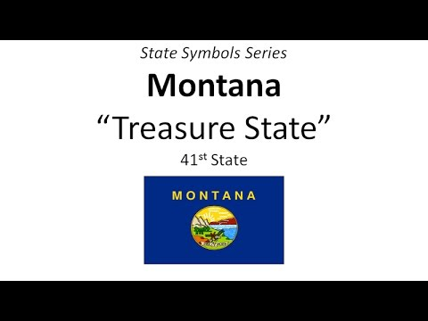 State Symbols Series - Montana
