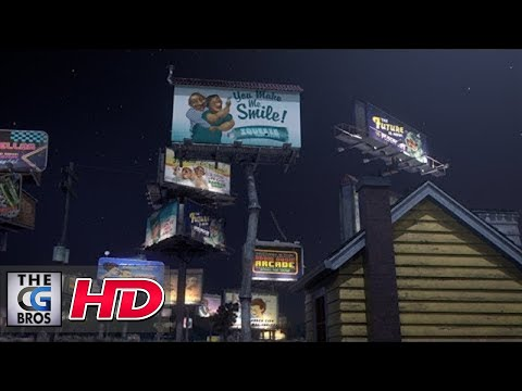 CGI Animated Making of : Love In The Time of Advertising:Rigging & Animating The Billboards Part 2