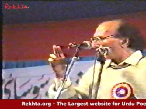 Bashir Badr   Rare Recording From All India Mushaira