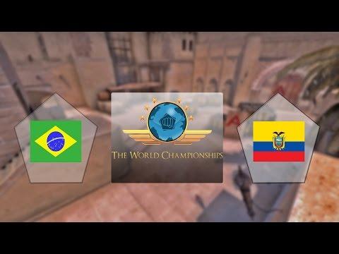 E-Frag TWC - Brasil vs. Equador (Mapa 1 - Mirage) - Qualificatório Sul-Americano