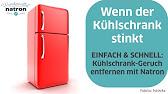 Gestank im Kühlschrank verhindern / Kühlschrankgerüche beseitigen ...