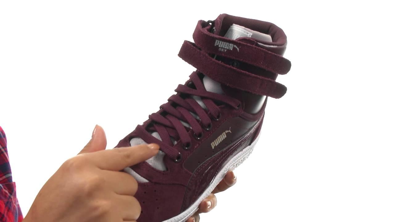 e95b99aed56e PUMA Sky II High Streetwear SKU 8724220 - YouTube