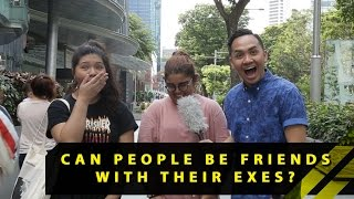 Can People Be Friends With Their Exes? | Word On The Street