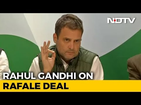 """Why Did Anil Ambani Get Offset Clause?"" Asks Rahul Gandhi On Rafale"