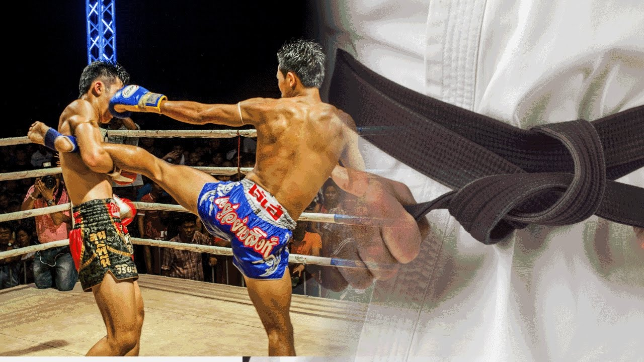MUAY THAI KICKBOXING BOXERS COMPETITION ARM BANDS BLACK KIDS