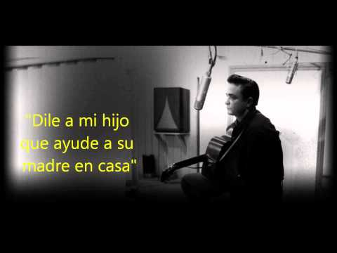 Johnny Cash | Give my love to Rose| Subtitulos en español