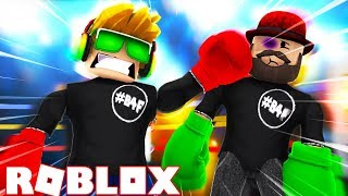 WORLD RECORD BOXER em ROBLOX BOXING SIMULATOR 5!