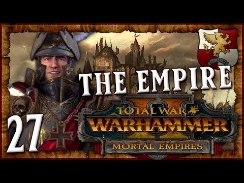 THE NEW WORLD INVASION FLEET! | WARHAMMER II - Mortal Empires (The Empire) #27