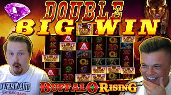 Max Bet Buffalo Rising MEGWAYS, Double Big win!