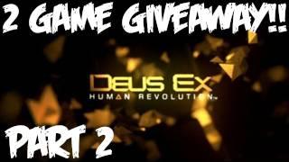 Deus Ex Human Revolution Walkthrough Part 2 [Prologue] - GIVEAWAY - Let