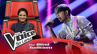 Sakuna Kavinda -Saragaye (සරාගයේ) | Blind Auditions | The Voice Sri Lanka Thumbnail