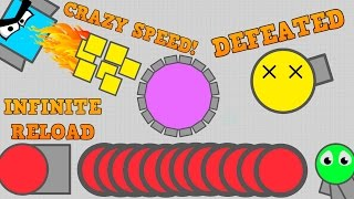 BEST DIEP.IO GLITCHES OF ALL TIME!! // Arena Closers Killed, Infinite Reload, Insane Drone Speed