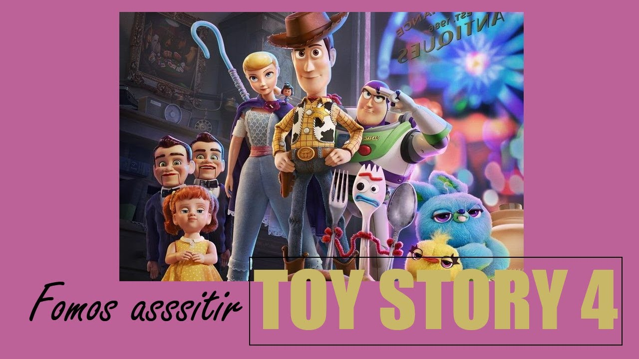 SHOPPING / CINEMA FILME TOY STORY 4