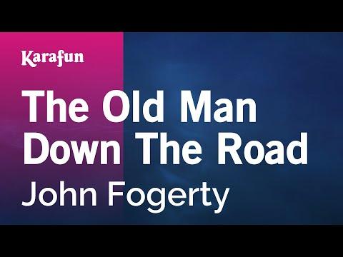 Karaoke The Old Man Down The Road - John Fogerty *
