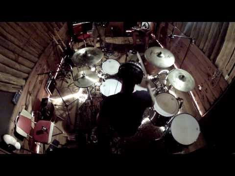 GoPro Quick Drum Solo - Pearl Reference Drums and Zildjian Cymbals - Adrian Griffin