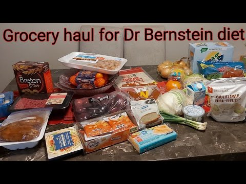 Dr Bernstein Diet| My Weight Loss Journey| Grocery Haul|