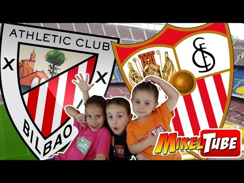 Predicción Bilbao VS. Sevilla con Adrenalyn XL Liga BBVA   Mikel VS. Lola