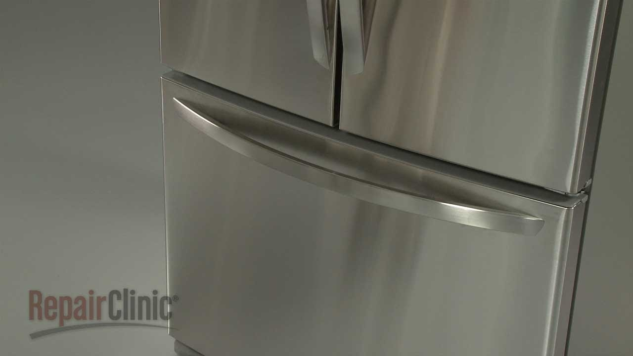 Incroyable LG Refrigerator Replace Freezer Door Handle #AED37133117   YouTube