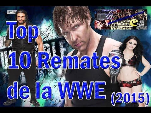 TOP Los 10 Mejores Remates De La WWE 2015