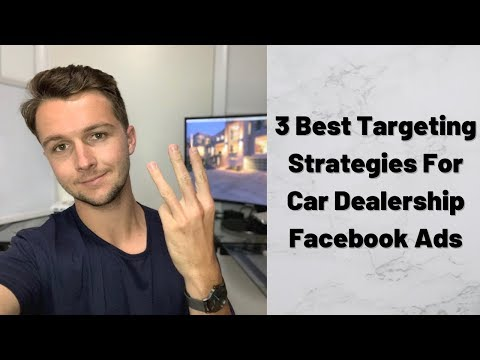 3 Best Cold Audiences For Car Dealership Facebook Ad  |  SMMA Tutorial